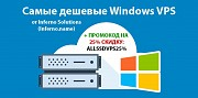 Дешевые Windows VPS от Inferno.name с быстрой установкой Москва