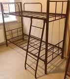 Кровати на металлокаркасе, двухъярусные, односпальные для хостелов, гостиниц, рабочих Симферополь